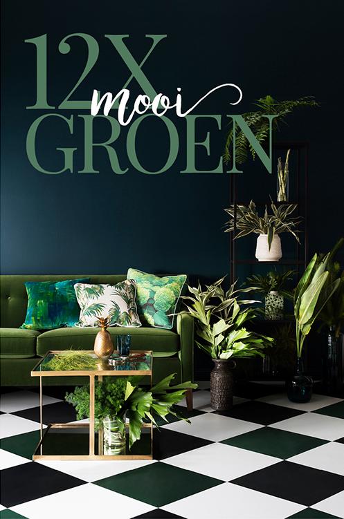 12x mooi groen