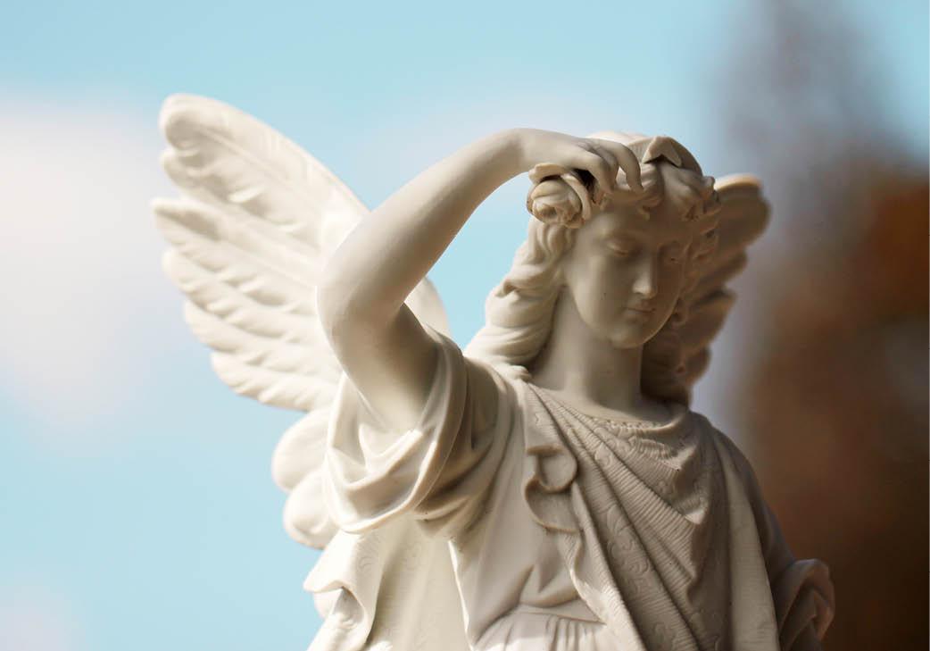 Beeld van engel