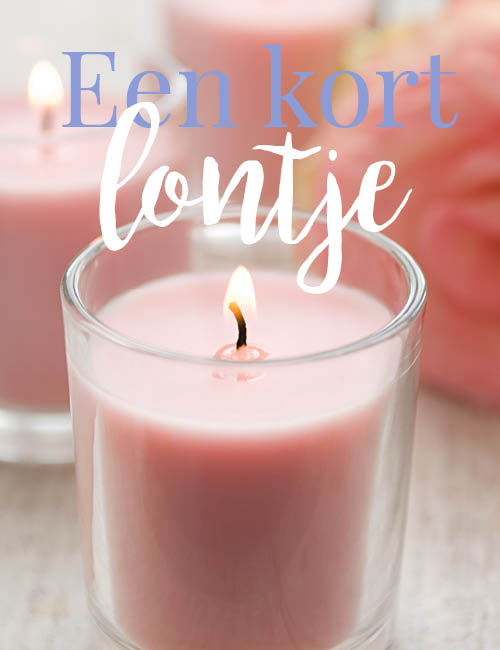 roze kaarsen