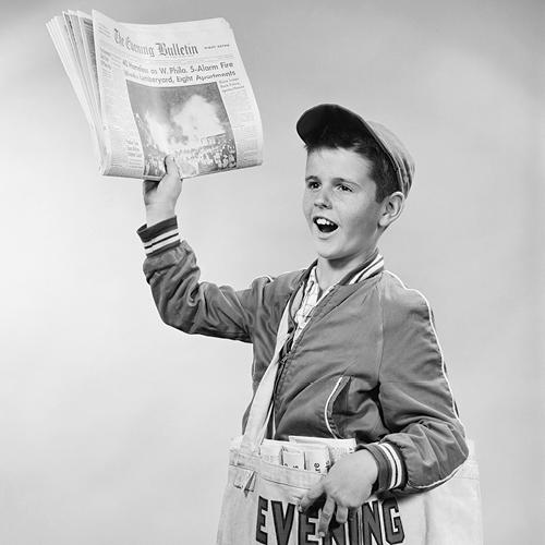 Krantenjongen