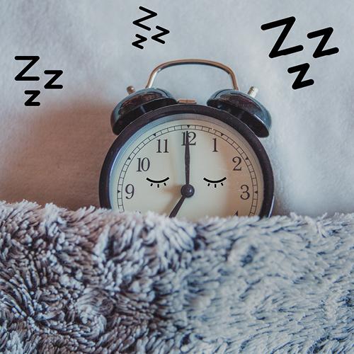 klok in bed