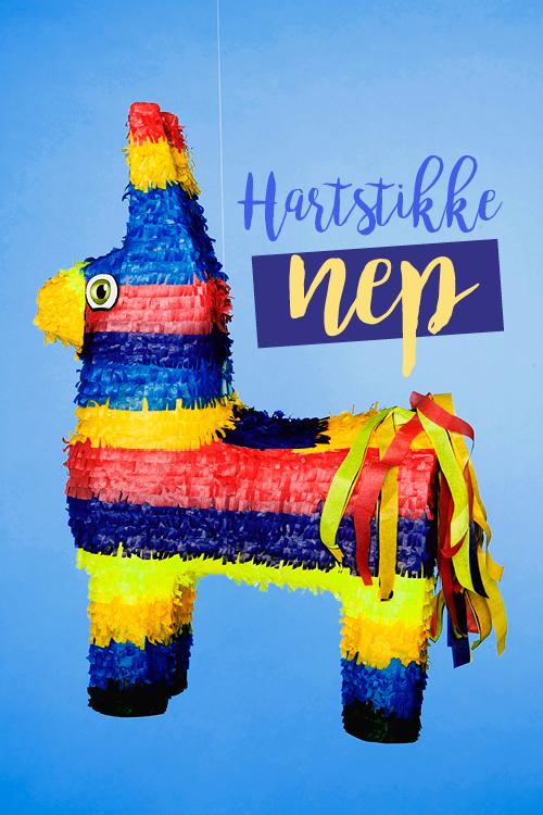 Piñata surprise in de vorm van een llama