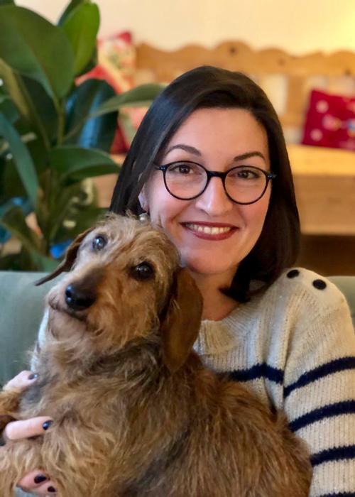 Irene met hond