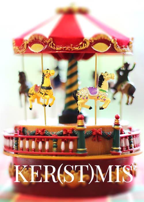 Carousel kerstmis