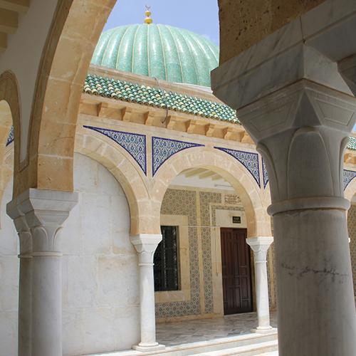 tempel in tunesië